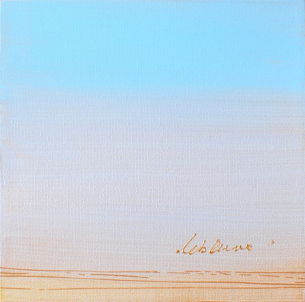 "Bercer l'infini, Acrylic, 8"" X 8"" www.SigneLeblanc.com http://www.chiendor.com/category/artists/artists/painters/isabelle-leblanc"