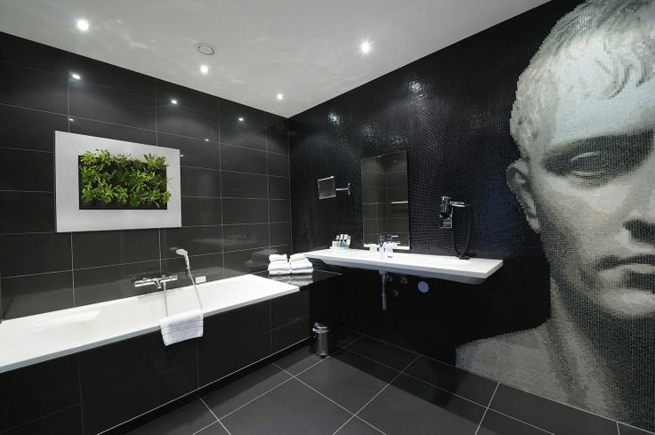 Bathrooms - see more at http://officelandscapes.co.uk/blog/live-picture-living-plant-art-for-birmingham-restaurant/