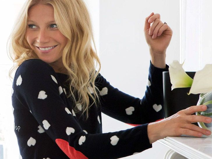Gwyneth Paltrow, eco-fashion designer? The actress has created a pair of sweaters for British ethical knitwear brand Chinti and Parker.