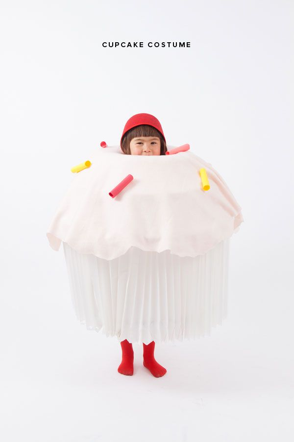 Halloween Cupcake Costume for Kids | Oh Happy Day!