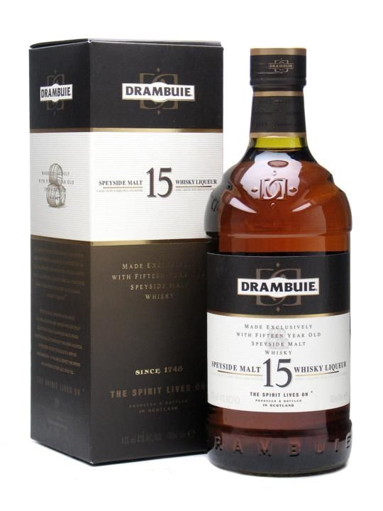 Drambuie 15 Year Old Speyside Whisky Liqueur / Litre