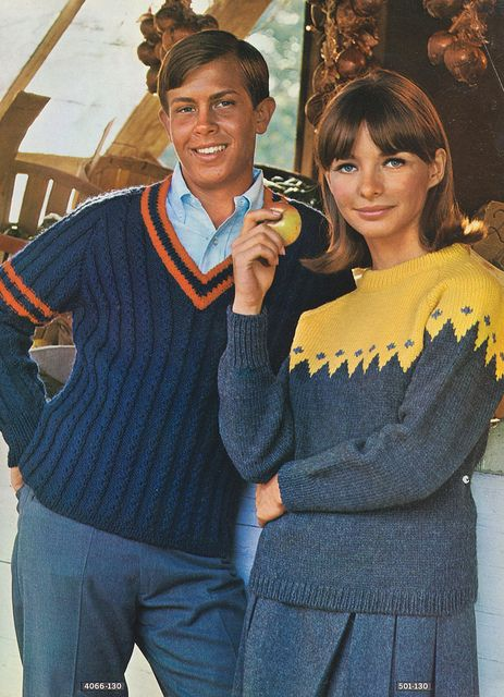Page 06 of the 1966 Bernat Cables and Reglans knit and style book