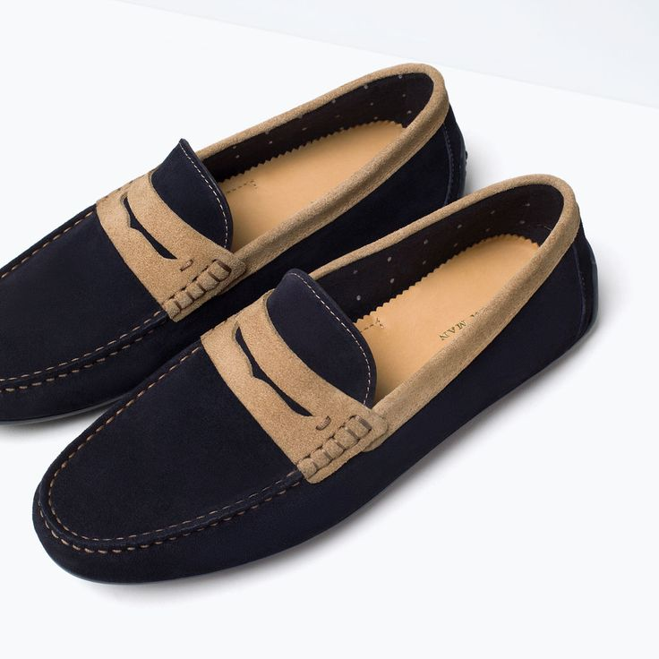 ZARA - COLLECTION SS15 - LEATHER PENNY LOAFERS