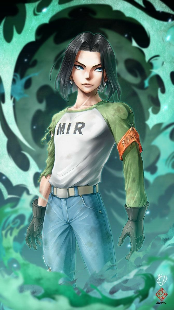 Dragon Ball Z Super Fan Art Android 17 Androide Personajes De Dragon Ball Androide 17
