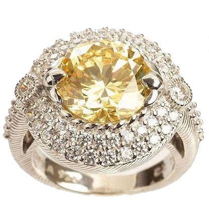Yellow Diamond by Jonathan Arndt. 5-plus carats