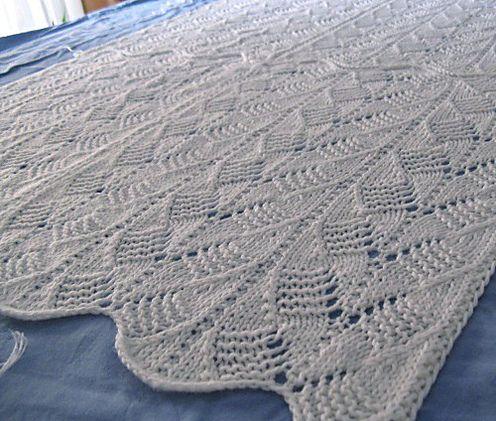 A Passionate Yarn Knitting Blog: Elephant Baby Blanket