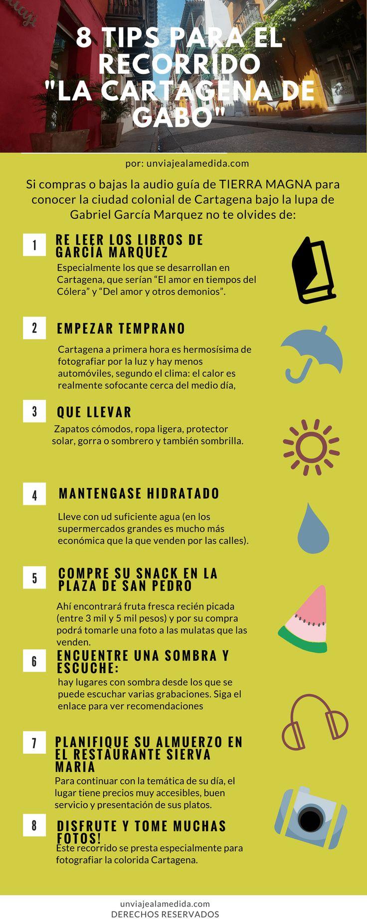 Tips para hacer el audio tour de García Marquez