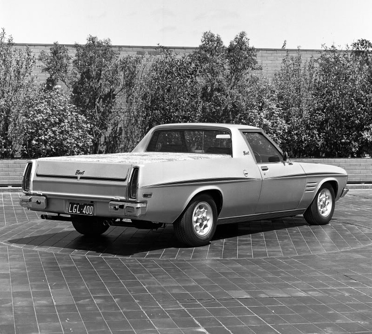 HQ Holden ute prototype-concept