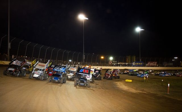 1000 images about sprint cars speed on pinterest cars for Dirt track at charlotte motor speedway