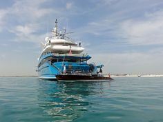 SPOTTED: One Of The Largest Yachts In The World Is Chilling Just Outside Dubai
