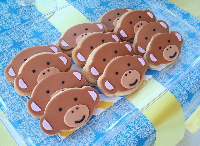 Modern monkey cookies