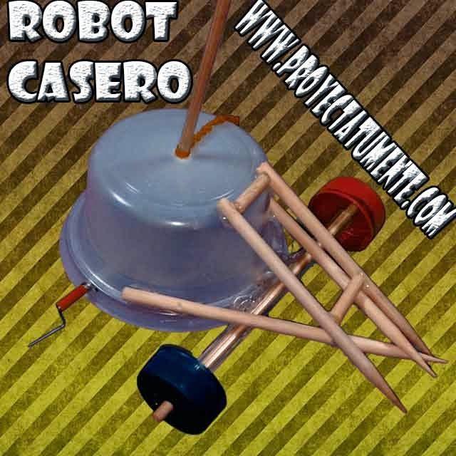 C mo hacer un robot de combate casero proyectatumente for Materiales para hacer un ascensor