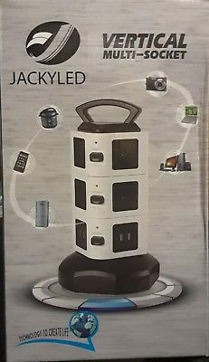 Power Strip Tower Jackyled Surge Protector Electric Charging Station1  MPN - Does Not Apply