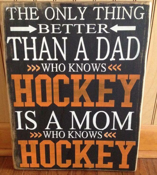 I enjoy watching my boys play hockey!