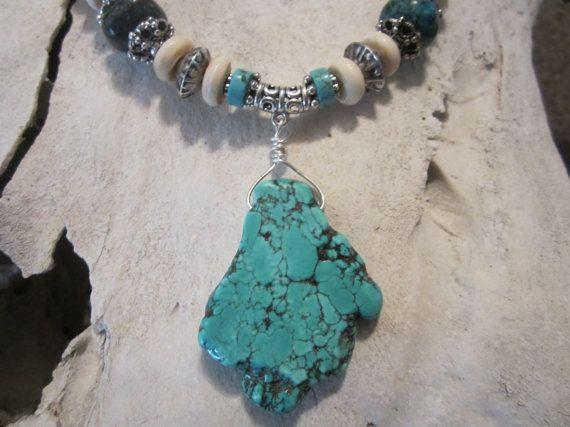 Western jewelry cowgirlcountry western turquoise by edanebeadwork, $30.00