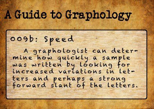 Cramped handwriting analysis