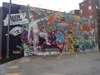 Higher Level Art, Over the Rhine in Cincinnati, Ohio