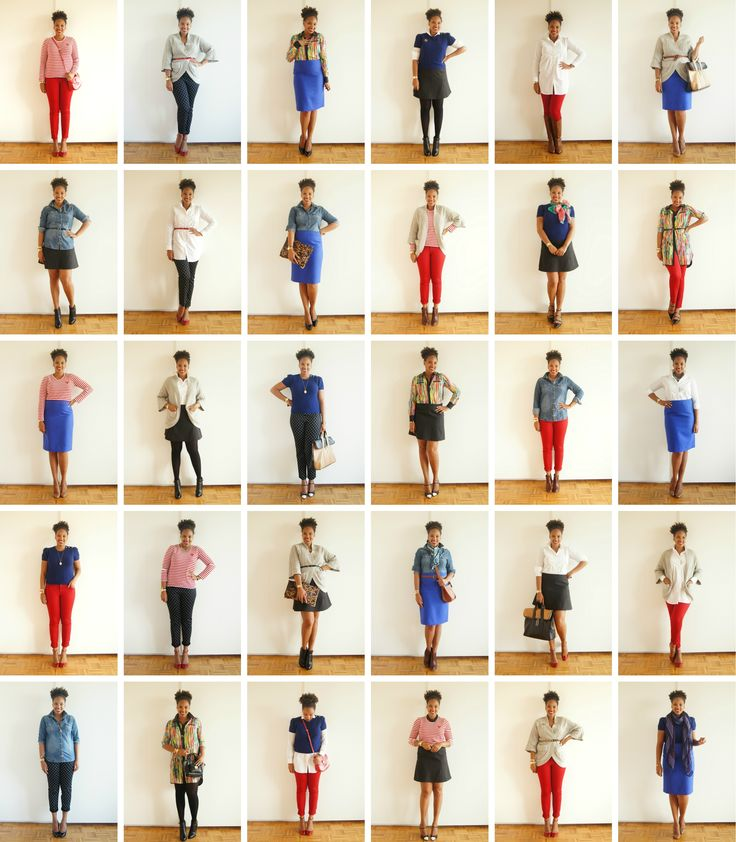 Closet Raid: {Another} 30 Day Capsule Wardrobe Using Just 10 Items