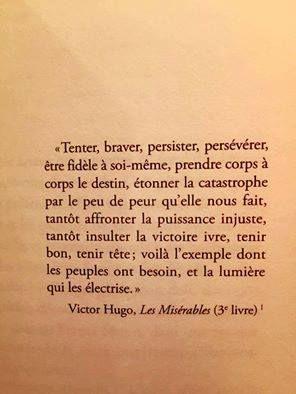 Victor Hugo, Les Misérables (3e livre).