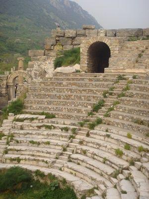 Amphitheater, Pergamum, Turkey