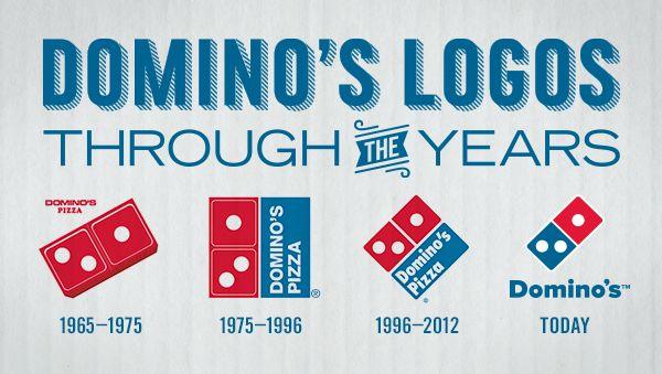 Domino's Logos Through The Years! | Restrantssssssssss ...
