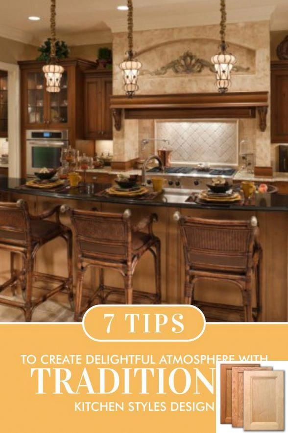 Traditional Kitchen Design Gallery And Traditional Vintage