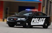 Ford Police Interceptor Front Three Quarter Turn