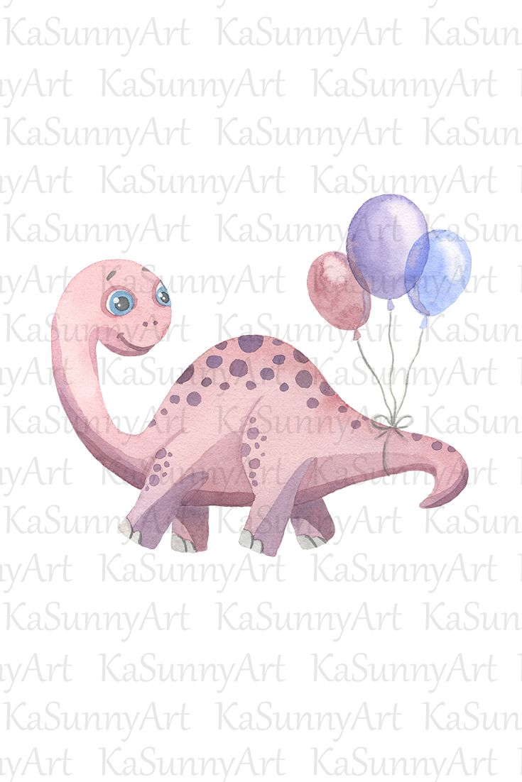 Pin On Watercolor Cute Animal Illustration Clipart