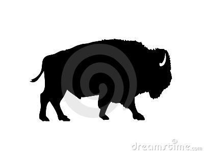 American Bison Vector Silhouette - Download From Over 25 Million High Quality Stock Photos, Images, Vectors. Sign up for FREE today. Image: 8974454