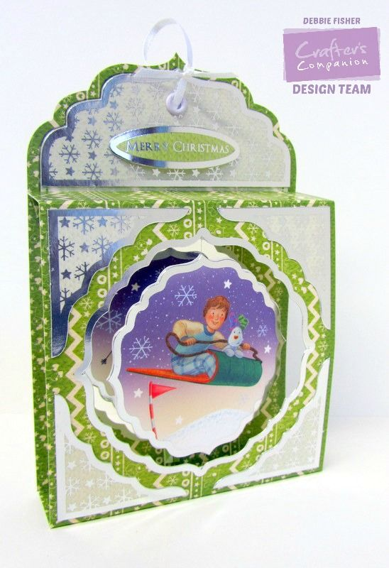 Snowman & Snowdog Deluxe Papercrafting Kit