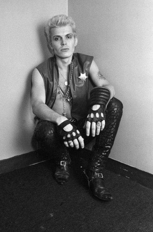 Billy Idol, Boston, MA. 1982