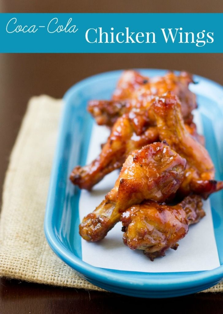 15 Chicken Wings Recipes that Will Blow your Mind - Coca Cola Chicken Wings