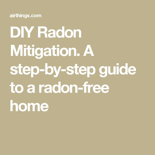 Diy radon system guidelines radon mitigation diy pinterest diy radon system guidelines radon mitigation diy pinterest house projects solutioingenieria Image collections