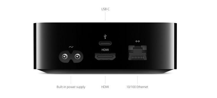 Si tienes una Apple TV 4, tendrás que comprar un cable USB