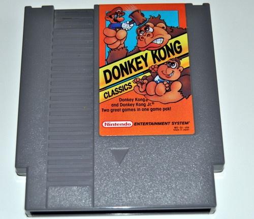 Donkey Kong Classics Nintendo NES video game