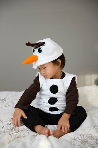 Want Build Snowman Make Olaf Costume