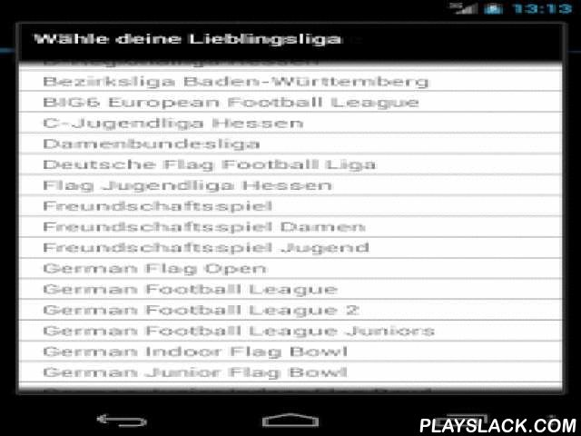 american football germany android app playslackcom american football in germanygfl german football