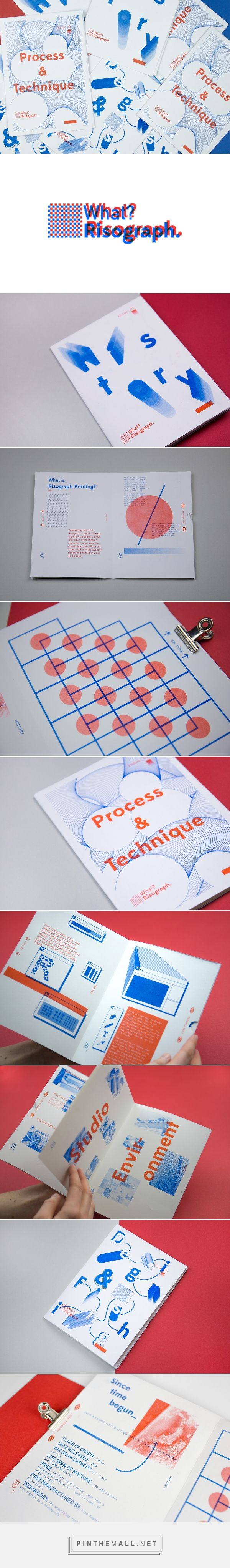 What? Risograph - Zine & Website on Behance - created via https://pinthemall.net
