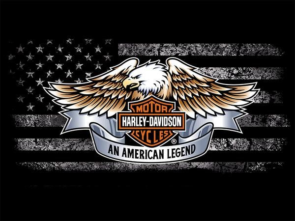 High Definition Printed 5 Piece On Canvas Harley Davidson Motorcycle Bar And Shield Logo Harley Davidson Pictures Harley Davidson Classic Harley Davidson