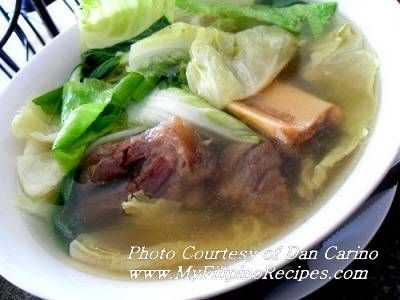 Batangas Bulalo - instant pot for 30 min. Beef shank soup with bones and marrow and beef tendons so more than 30 min?