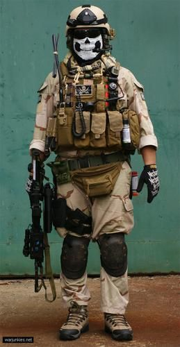 U.S. Navy SEAL uniform/kit