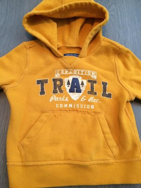 Hooded Sweater (Boys Size 18M)