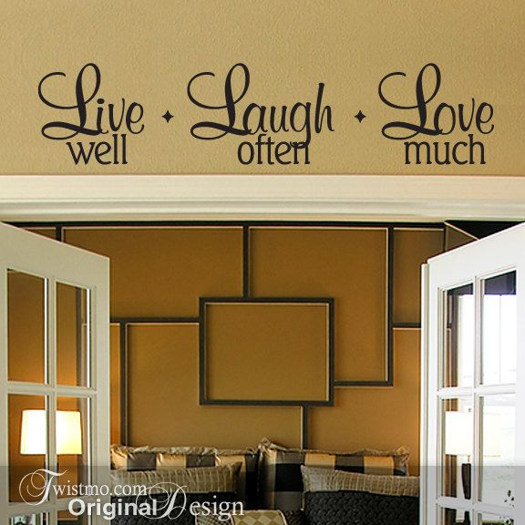 31 best wall phrases images on pinterest | vinyl wall art, home