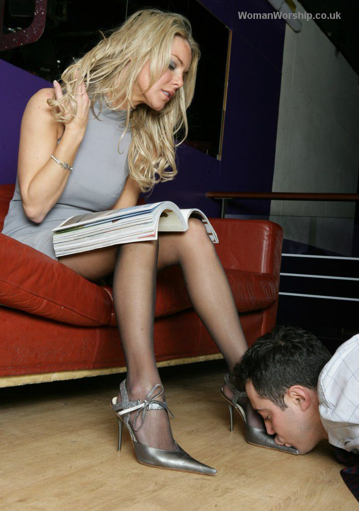 Believe film women make her slave kiss her shoes those