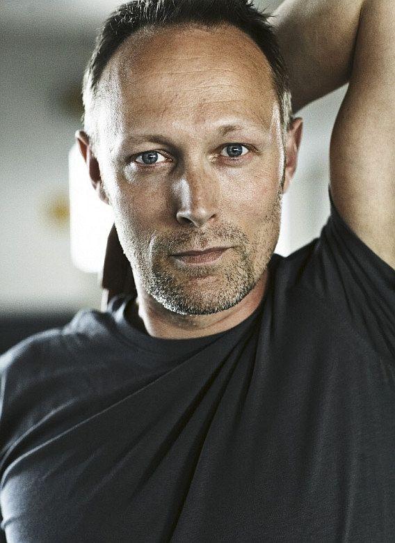 Danish actor Lars Mikkelsen, star of Borgen and The Killing. He's so gorgeous.