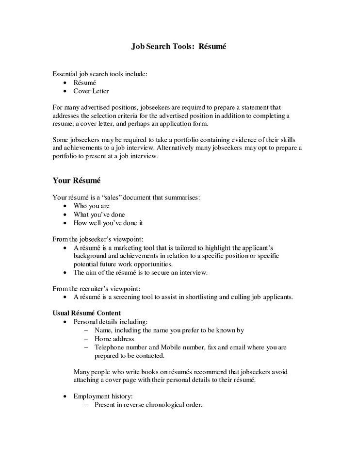 The 25+ best Resume objective sample ideas on Pinterest Good - reverse chronological order