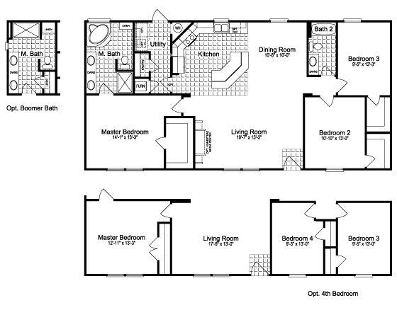 Premier modular home floor plans