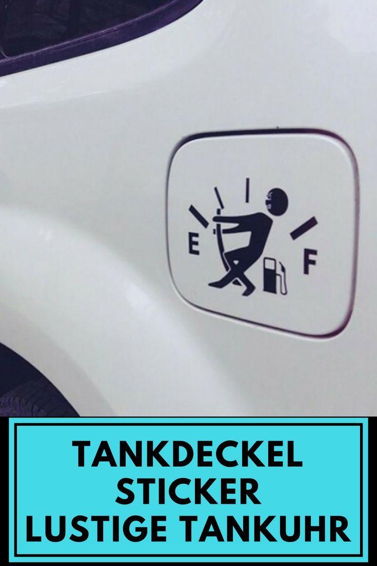 Tankdeckel Aufkleber Lustiger Tanknadel Oder Tankuhr Sticker Der