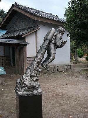 これは凄い!日本最強の二宮金次郎像を発見!「いろんな意味でぶっ飛んでる」 - Togetterまとめ