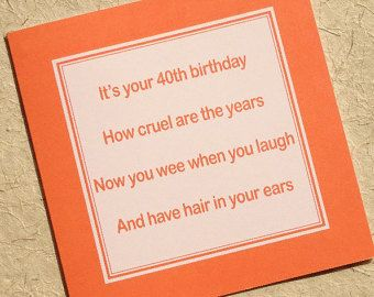40th Birthday Invitation Modern Gold Foil Hello 40 by prettypress